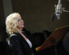 Agnetha Fältskog w studio nagrań