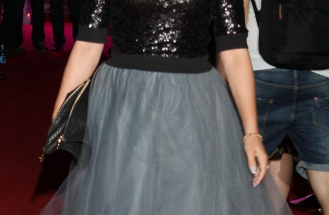 Anna Mucha na gali Kobieta Dekady Glamour