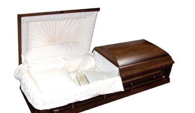 Zakład pogrzebowy pomylił zawartość trumny