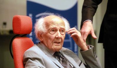 Narodowcy krzyczeli na wykładzie prof. Zygmunta Baumana. Interweniowała policja
