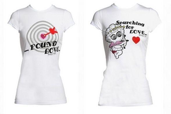 Miłosne T-shirty