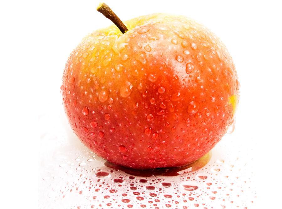 Śliczne jabłuszko pana Jobsa ma robaczka