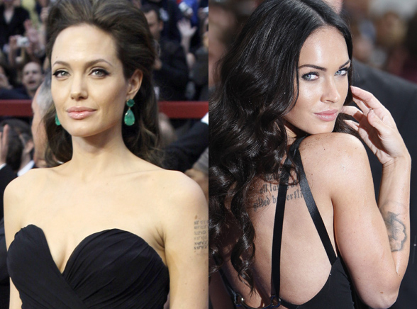 Megan Fox jest seksowna jak Angelina Jolie?