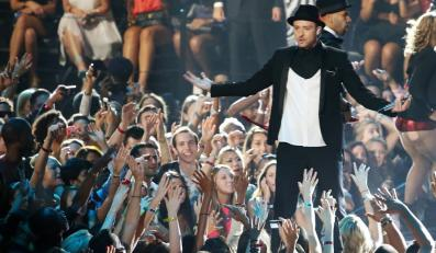 Justin Timberlake na gali MTV Video Music Awards 2013
