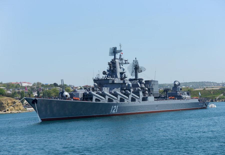 Rosyjski krążownik \