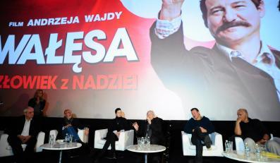 """""""Wałęsa. Człowiek z nadziei"""" – konferencja prasowa"""