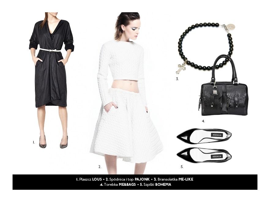 Eleganckie stylizacje na jesień 2013