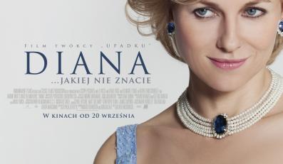 "Naomi Watts na plakacie filmu ""Diana"""