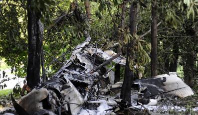Samolot spadł w Krakowie. Zginął pilot