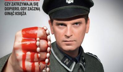 """Tomasz Lis jako nazista na okładce tygodnika """"W Sieci"""". ZOBACZ CAŁĄ OKŁADKĘ"""
