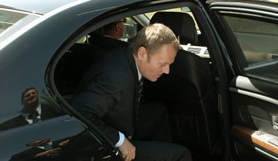Samochód Donalda Tuska miał kraksę
