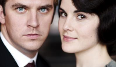 "Michelle Dockery i Dan Stevens w serialu ""Downton Abbey"""