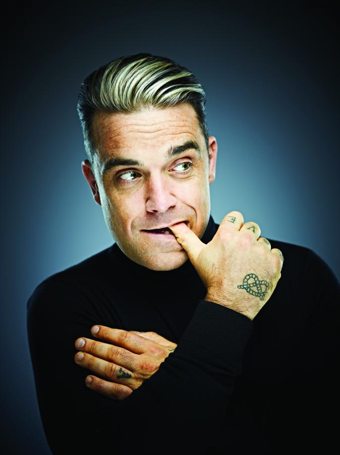 Robbie Williams na szczycie w Wielkiej Brytanii