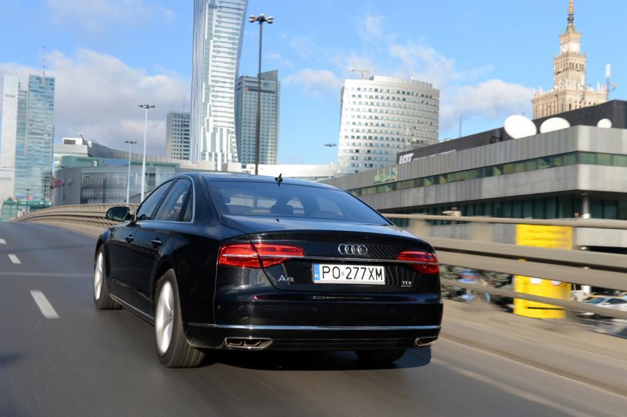 Audi A8 - zdjęcie poglądowe
