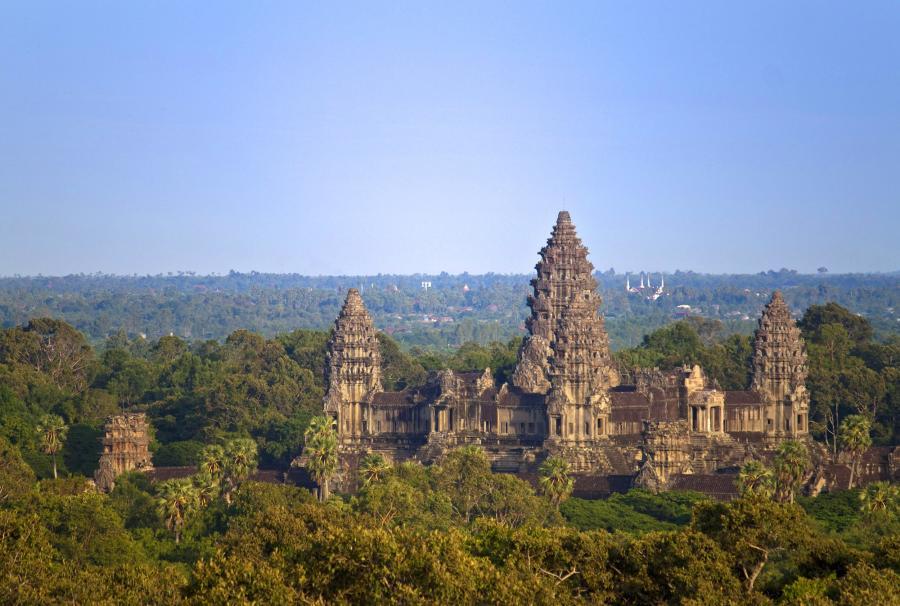 Angkor Wat - Budda, czyli Azja o dobrotliwym obliczu