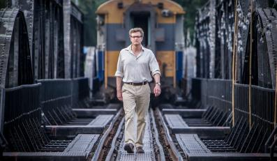 "Colin Firth jako ""The Railway Man"""