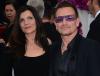 Bono z żoną Alison Hewson (małżeństwem są od 1982 roku)