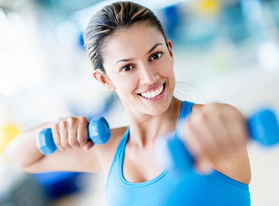 7. Postaw na trening siłowy