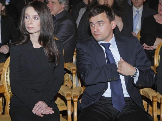 Marta Kaczyńska i Marcin Dubieniecki w 2010 roku