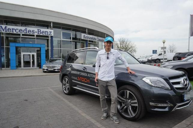Kamil Stoch Odbiera Mercedesa Amg Gla 45 Pictures to pin on Pinterest