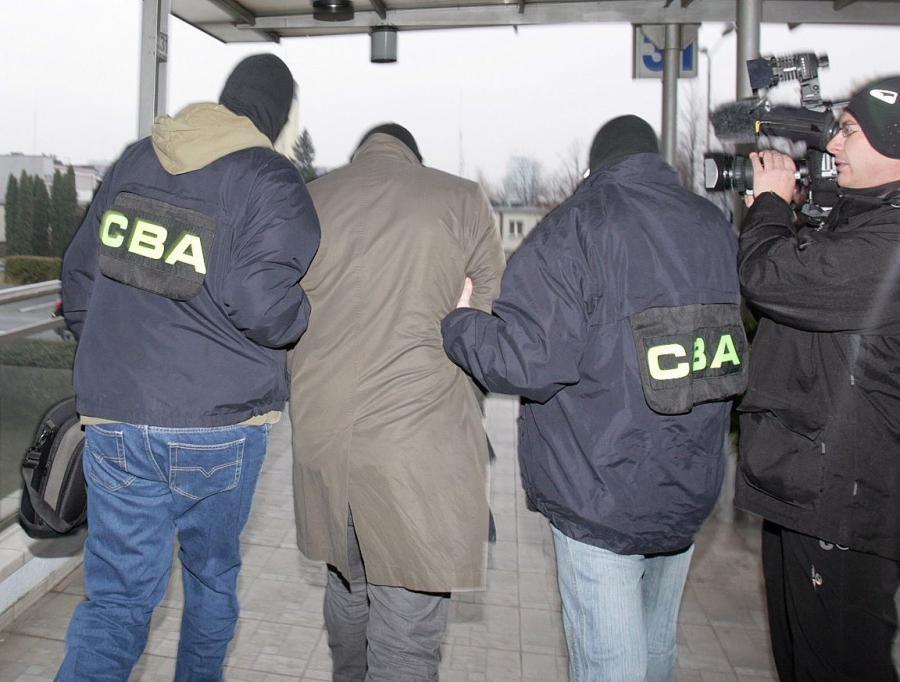 Zatrzymanie przez agentów CBA