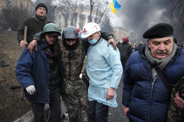 Dziś Dzień Niebiańskiej Sotni na Ukrainie - tak było rok temu
