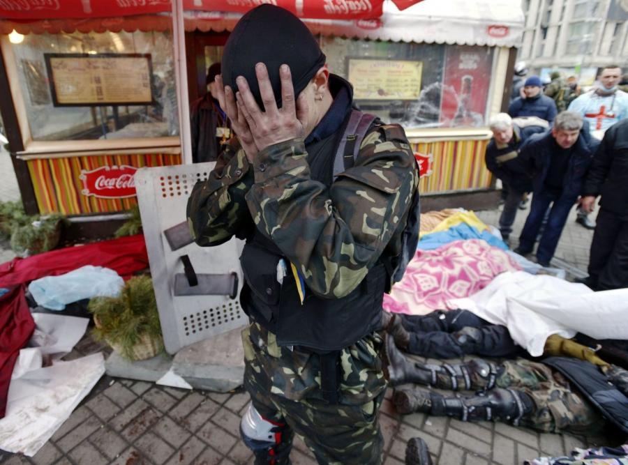 Ukraina. Zabici na Majdanie