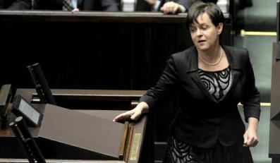 Minister edukacji Joanna Kluzik-Rostkowska