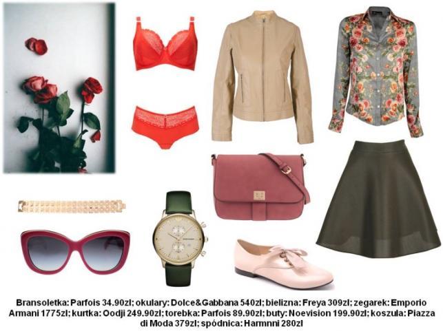 Ubrania w kwiaty - STYLIZACJE na wiosnę 2014