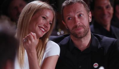 Chris Martin i Gwyneth Paltrow na jednym z nielicznych wspólnych zdjęć