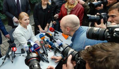 Konferencja prasowa Julii Tymoszenko