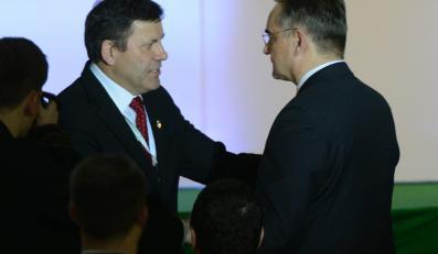 Janusz Piechociński i Waldemar Pawlak