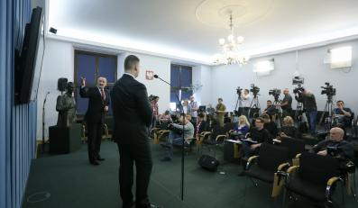 Konferencja prasowa Antoniego Macierewicza