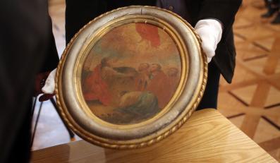 Odzyskany przez Ministerstwo Kultury i Dziedzictwa Narodowego obraz jednego z uczniów Michaela Willmanna, zwanego śląskim Rembrandtem