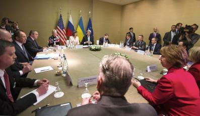 Rozmowy w Genewie w sprawie sytuacji na Ukrainie