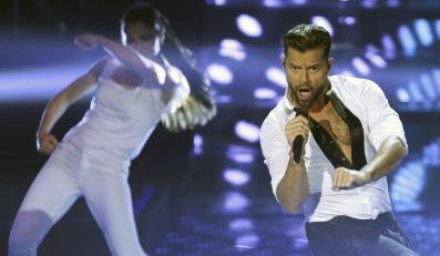 Ricky Martin pełen życia na Mundial