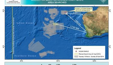 Mapa poszukiwań boeinga