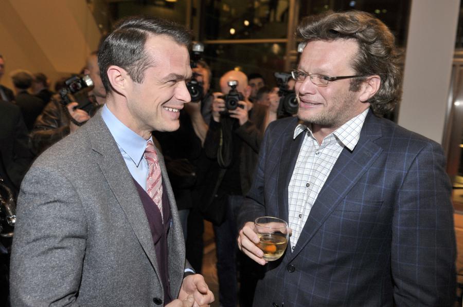 Sławomir Nowak i Marcin Meller
