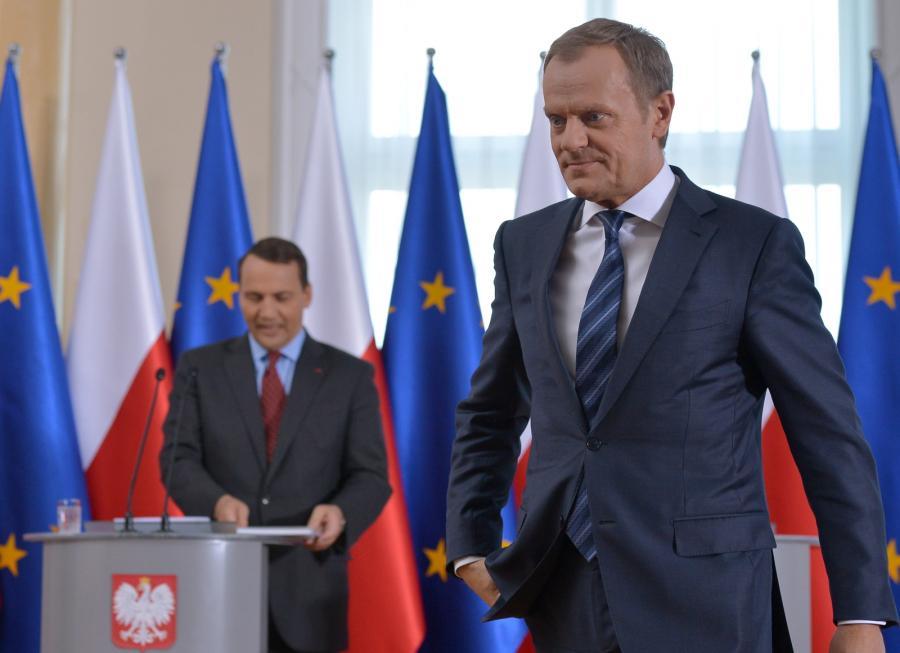 Radosław Sikorski i Donald Tusk