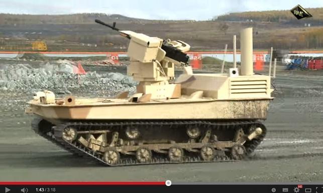 Rosyjska armia robotów w gotowości. ZDJĘCIA