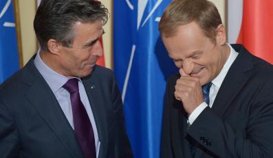 Donald Tusk i Anders Fogh Rasmussen