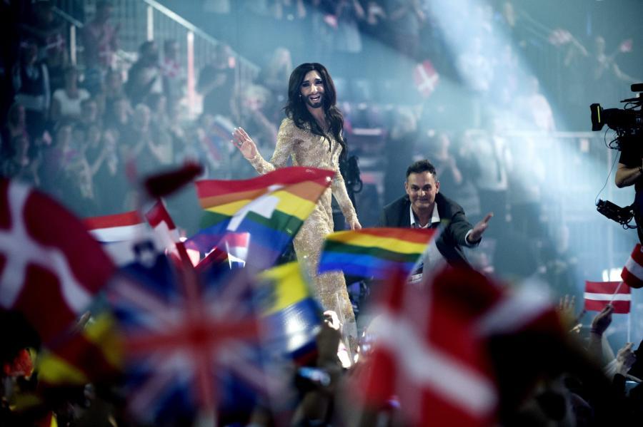 Conchita Wurst, zwyciężczyni Eurowizji