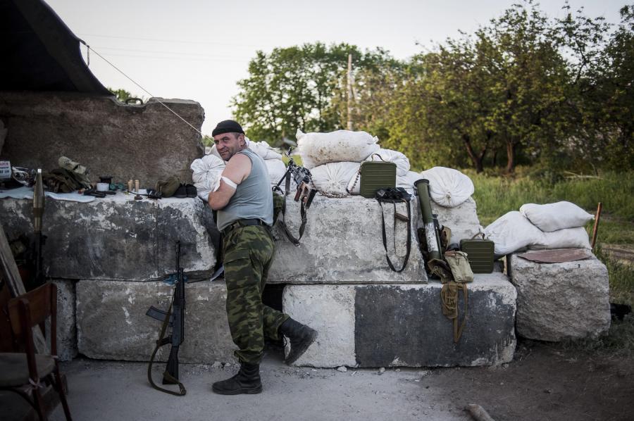 Barykada separatystów