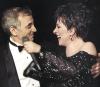 Liza Minnelli i Charles Aznavour w 1987 roku