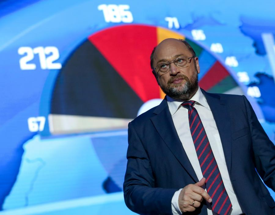 Martin Schulz, niemiecki polityk, przewodniczący Grupy Socjalistycznej w Parlamencie Europejskim