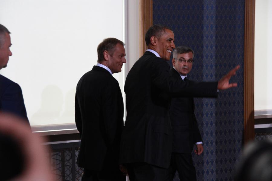 Barack Obama Donald Tusk prezydent USA Kancelaria Premiera #ObamaPL