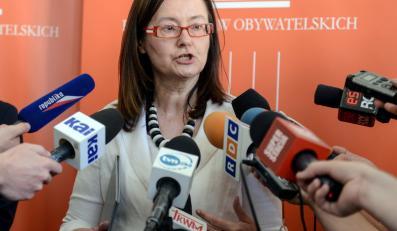 Rzecznik Praw Obywatelskich Irena Lipowicz