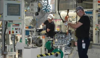 Toyota ruszyła z produkcją nowego silnika w Wałbrzychu