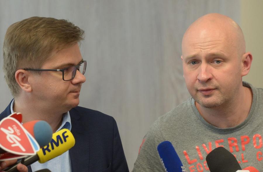 Sylwester Latkowski i Michał Majewski