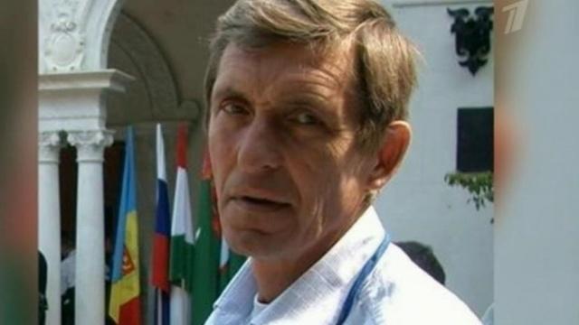 Operator telewizji Pierwyj Kanał, Anatolij Kljan / źródło: Pierwyj Kanał